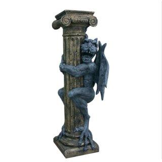 Drachensäule Gothic Dragons Blumensäule Fantasy Elfen Elf Mystic links schauend