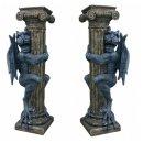 2x Drachenfigur Gothic Mystic Fantasy Tierfiguren...