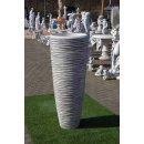 Amphorenvase Steinvase Blumenkübel Pflanzkübel Amphore Vase Pflanzschale H:120cm