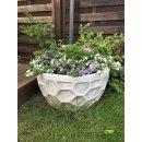 Blumenkübel-Set 2 x Pflanzkübel Blumentopf Pflanzschale Terrassen Blumenschalen