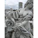 Griechische Fontänenfigur Gartenfigur Skulptur Teichfontäne Tierfigug Fischfigur