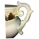Griechische Tischschale Pokalvase Bauchvase Blumenschale Pokalschale Henkelvase