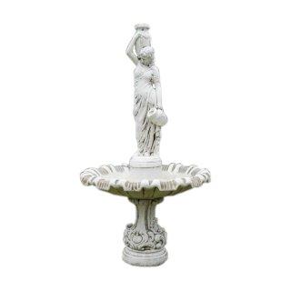 Kaskadenbrunnen Etagenbrunnen Springbrunnen Gartenbrunnen Teichfigur Krugfrau