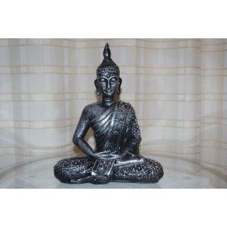 Sitzender Buddha Thai Feng Shui Jing Jang Thai Buddha Thai Figuren Asien