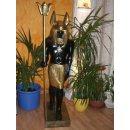 Anubis Gott der Toten Pharao Sarkophag Nofretete Ramses...