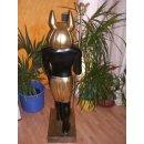 Anubis Gott der Toten Pharao Sarkophag Nofretete Ramses Ägyptische Figuren Rar