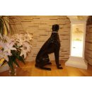 Windhund Hundeskulptur Hundefigur Jagdhund Rassehund Lebensgroße Lack Tierfigur