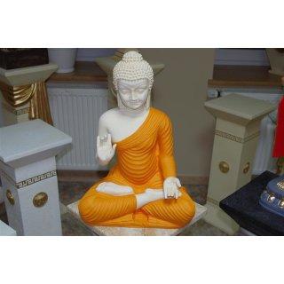 Sitzender Thai Buddha Figur Feng Shui Lotus Asien Orientalische Buddhismus