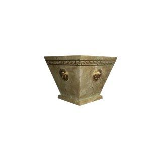 Griechische Marmorschale Schale Obstschale Dekoschale Schalen Medusa Versa Serie