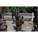 Griechische Göttin Nackte Frauenfigur Steinfigur Gartenfigur Teichfigur H: 170cm
