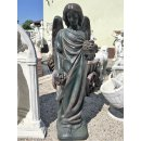 Trauender Engel Engelskulptur Steinengel Steinfigur Gartenfigur Grabengel 72KG