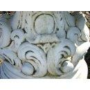 Runder Gartentisch Steintisch Sitzgruppe Griechische Gartenmöbel Terrasenmöbel