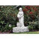 Griechischer Figurenbrunnen Springbrunnen Gartenspringbrunnen Frau mit Krug