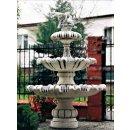 Steinbrunnen Springbrunnen Beckenbrunnen Gartenbrunnen Figurenbrunnen 471KG